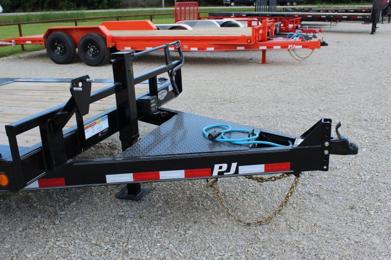 2022 PJ Trailers TJ 22' tilt Equipment Trailer