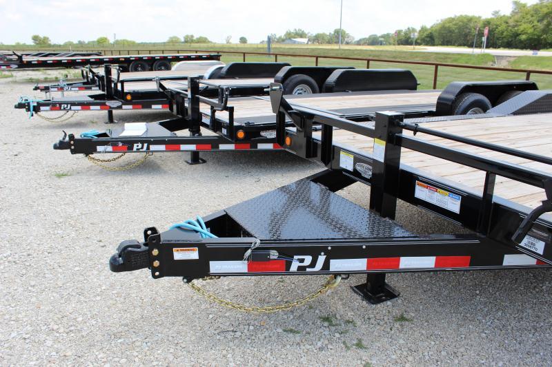 2022 PJ Trailers B6 20' superwide Equipment Trailer