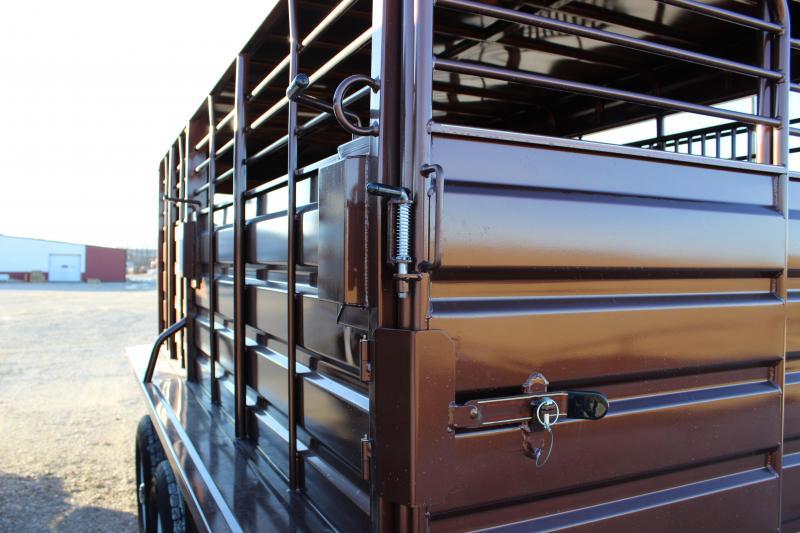 2021 GR Trailers 6.8x16 Livestock Trailer