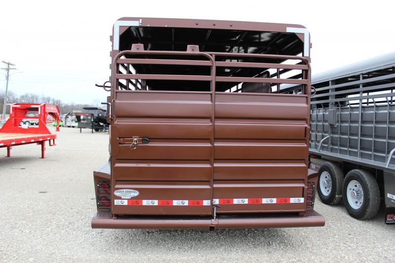 2021 GR Trailers 6.8x20 Livestock Trailer