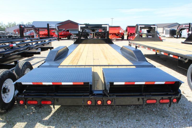 "2022 PJ Trailers 102"" x 24' 10"" Pro-Beam Super-Wide Equipment (H7) Equipment Trailer"