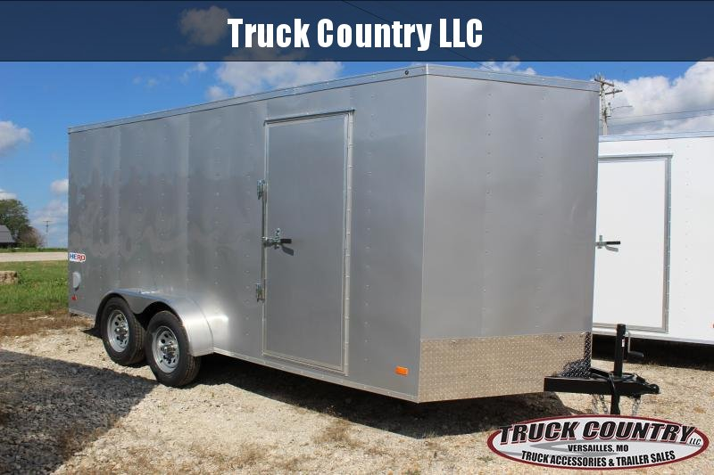 2021 Bravo Trailers 7x16 Hero Enclosed Cargo Trailer