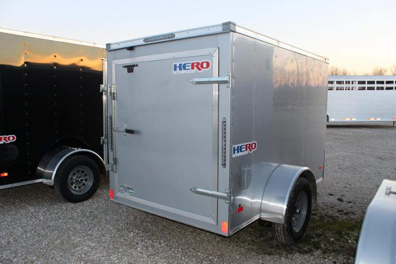 2021 Bravo Trailers 5x8 Hero Enclosed Cargo Trailer