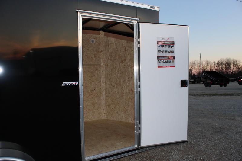 2021 Bravo Trailers 6x12 scout Enclosed Cargo Trailer