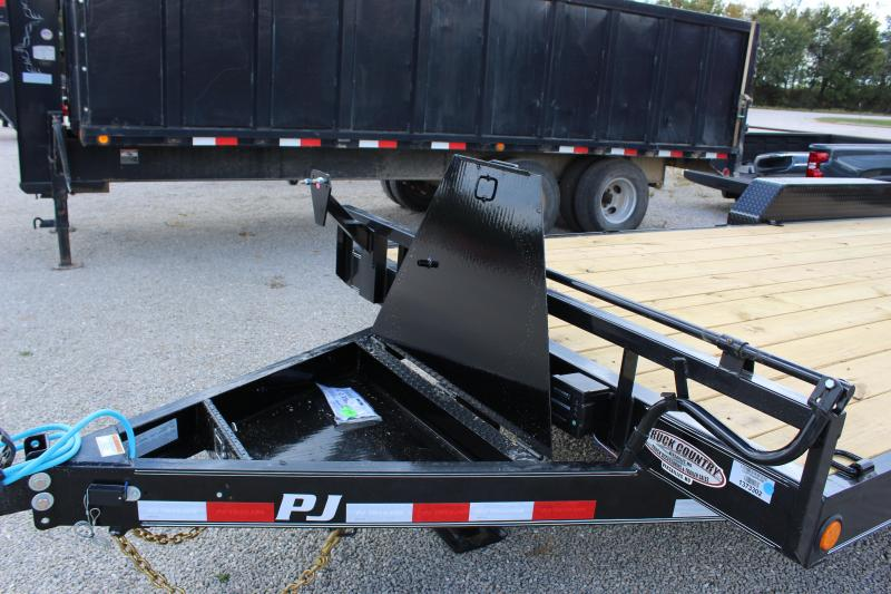 "2022 PJ Trailers 83"" x 20' 6"" Channel Equipment (CC) Equipment Trailer"