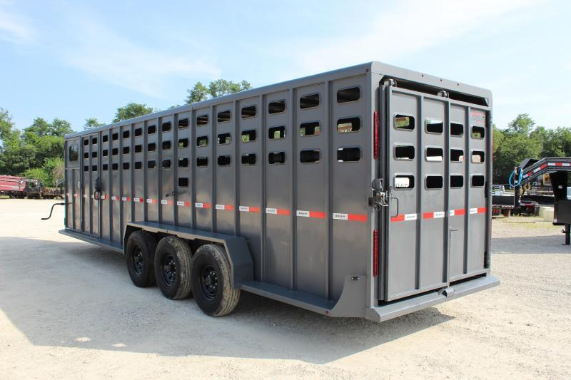 2021 Maxxim Industries 6.8x28 Livestock Trailer