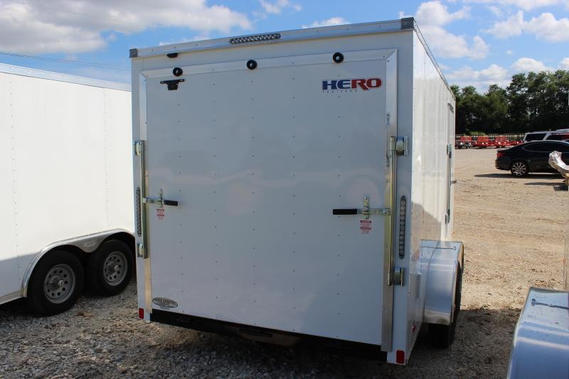 2021 Bravo Trailers 7x14 Hero Enclosed Cargo Trailer