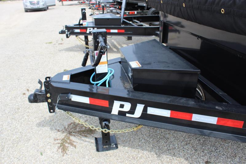 """2022 PJ Trailers 83"""" x 16' 14K Low-Profile Dump PRO (DL) Dump Trailer"""