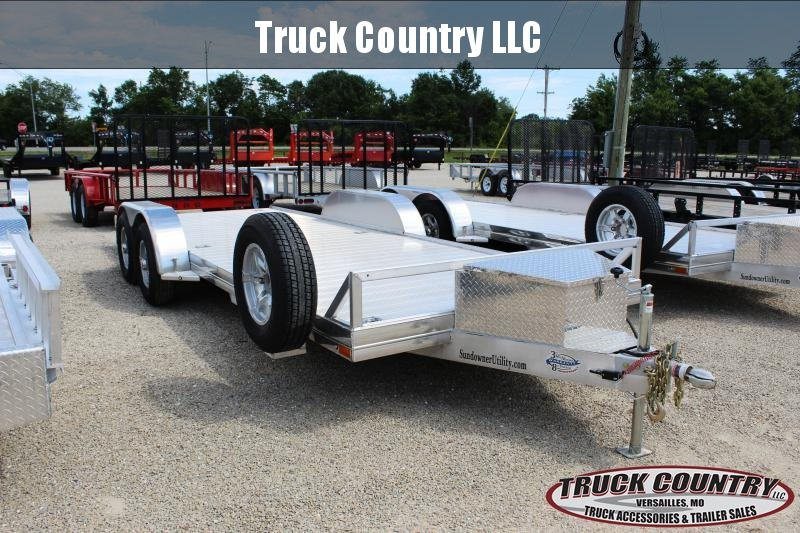 2020 Sundowner Trailers 6.9'x20' AP400 aluminum Car / Racing Trailer
