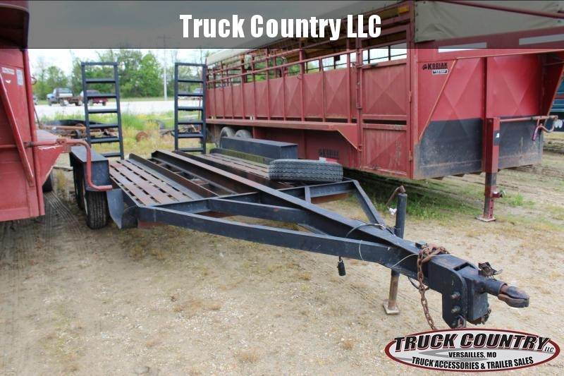1986 Other Texa 13' Equipment Trailer