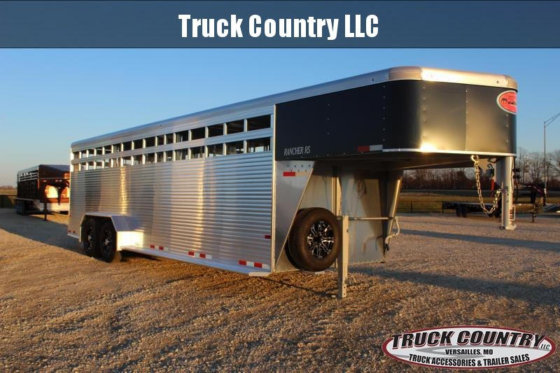 2021 Sundowner Trailers 7x24 gooseneck Rancher RS Livestock Trailer