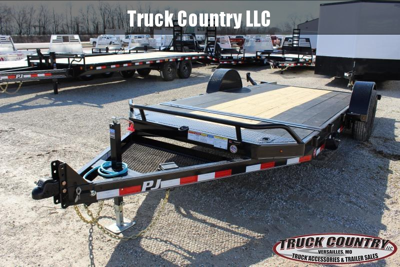 2020 PJ Trailers T1 16' tilt Equipment Trailer