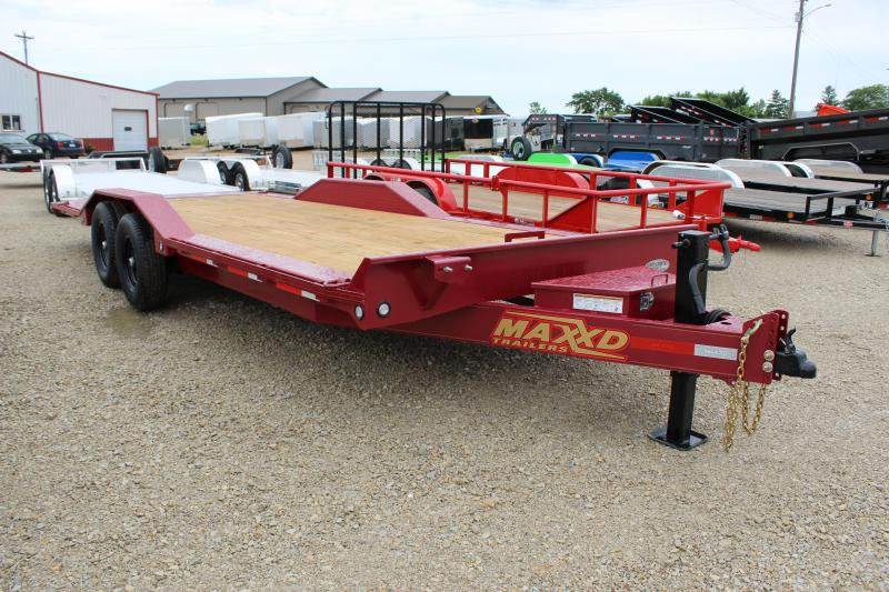2021 MAXXD T6X 102x22 superwide tilt Equipment Trailer