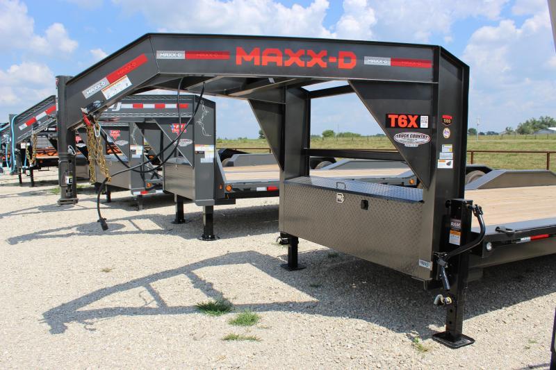 "2021 MAXXD T6X10224- 24' X 102"" Equipment Trailer"
