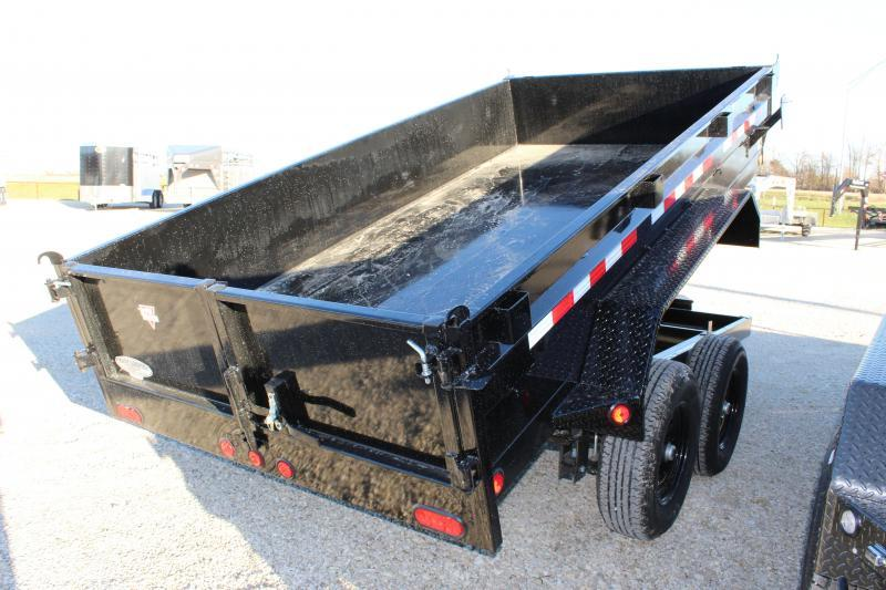 2021 PJ Trailers D3 72x12 dump Dump Trailer