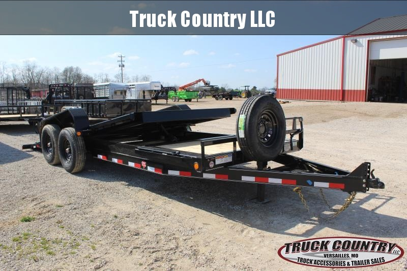 2020 PJ Trailers TJ 20' Equipment Trailer