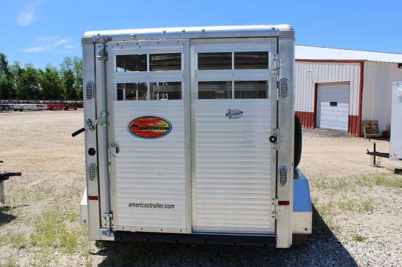 2020 Sundowner Trailers 6.9' x 16' stockman express Livestock Trailer