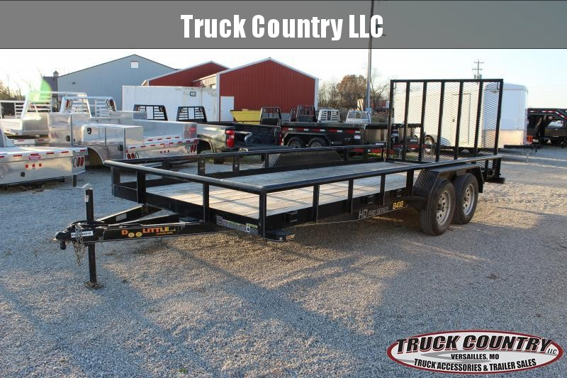 2020 Doolittle Trailer Mfg 18' Utility Trailer