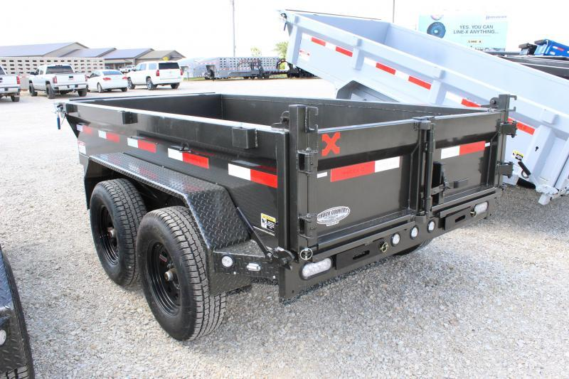 2021 MAXXD D6X 5x10 Dump Trailer