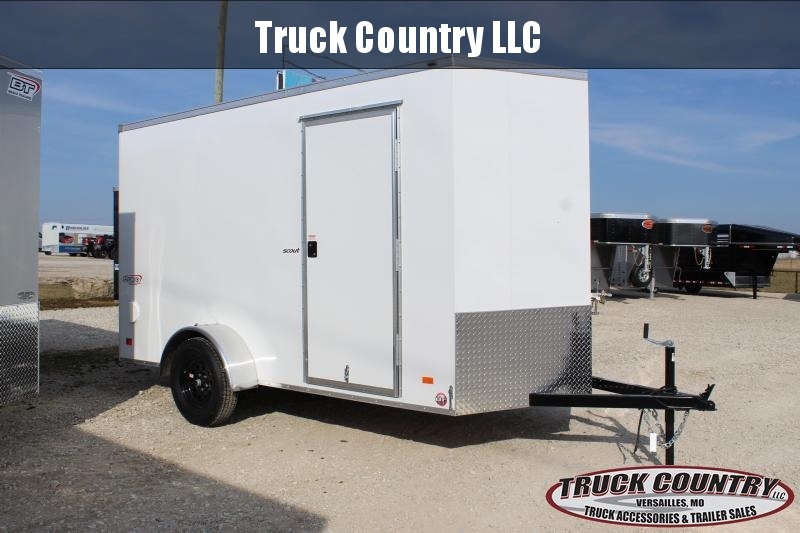 2021 Bravo Trailers 6x12 Scout Enclosed Cargo Trailer