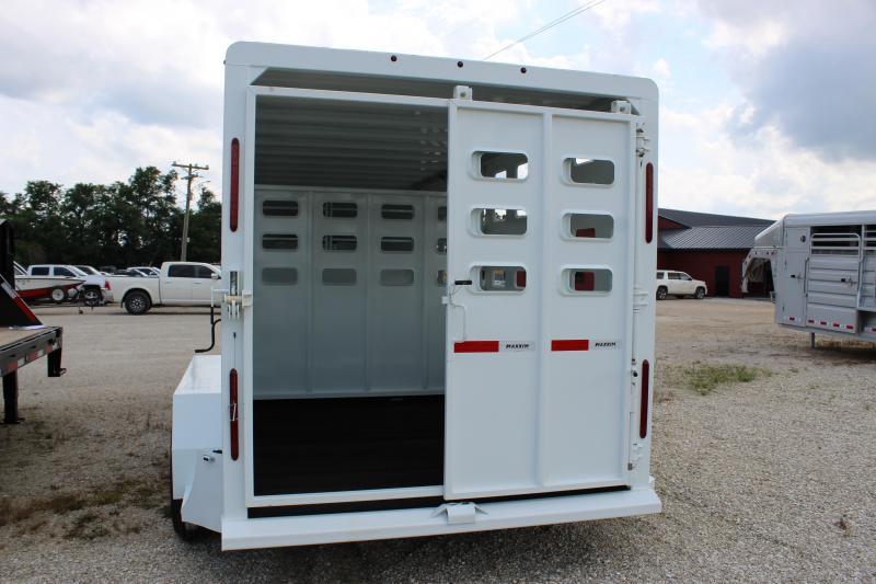 2021 Maxxim Industries 6.8x16 gooseneck Livestock Trailer