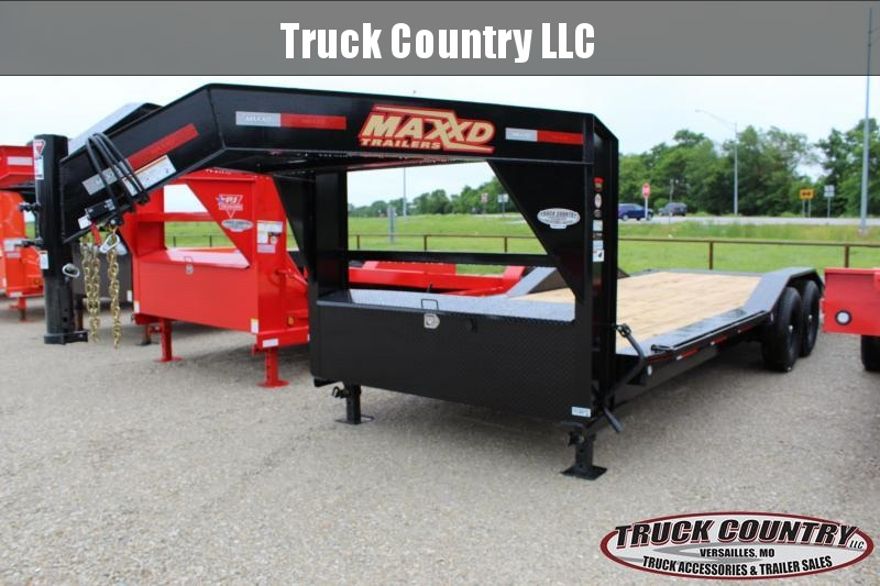 2020 MAXXD T6X 22' gooseneck tilt Equipment Trailer