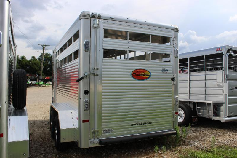 2021 Sundowner Trailers 6.9x16 Stockman Express aluminum Livestock Trailer