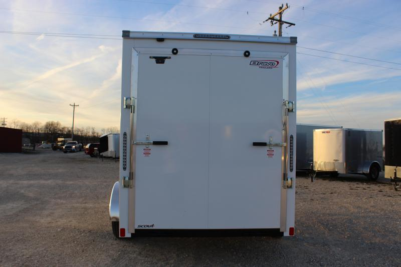 2021 Bravo Trailers 6x10 scout Enclosed Cargo Trailer