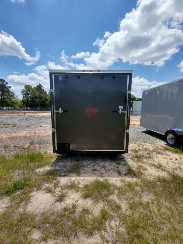 2021 Anvil 7x14 TA Enclosed Cargo Trailer
