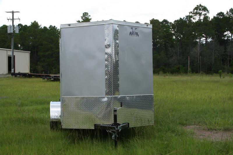 2021 Anvil 6x12 SA Enclosed Cargo Trailer