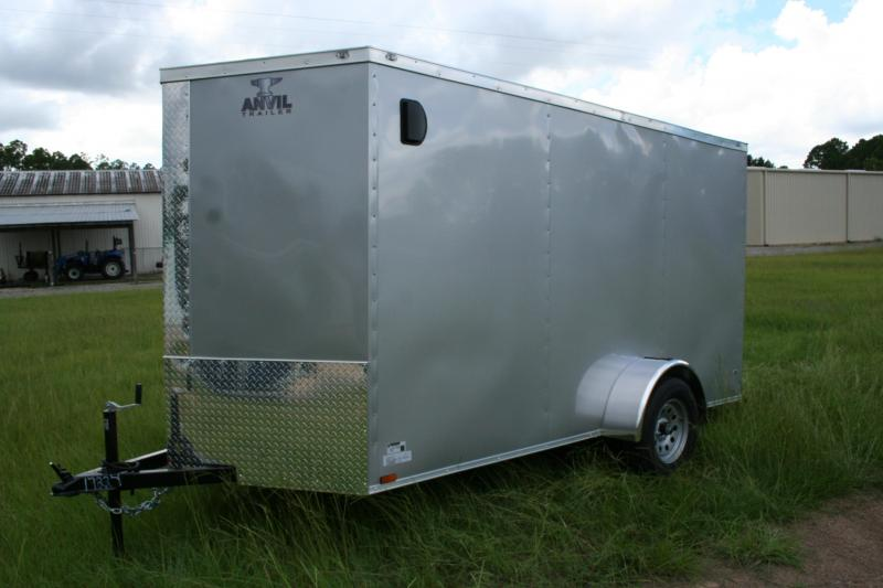 2021 Anvil 6x12 SA Enclosed Cargo Trailer