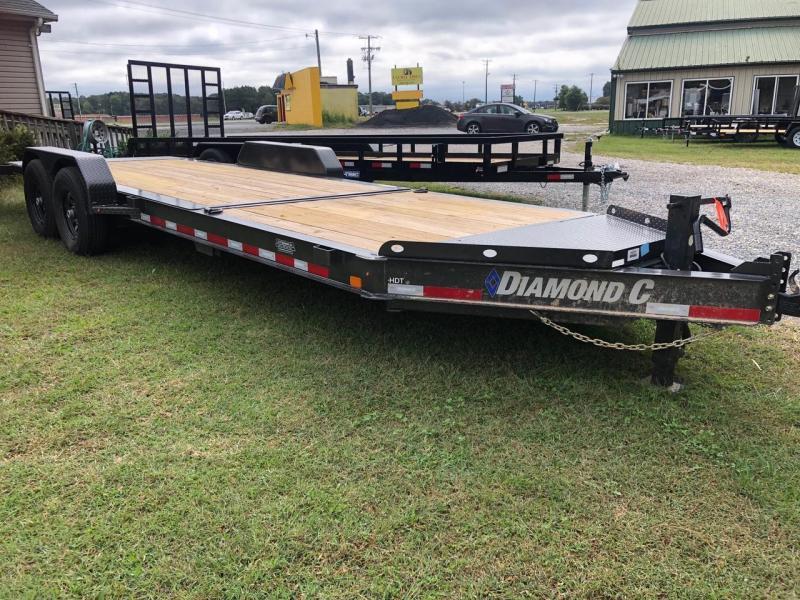 2021 Diamond C Trailers HDT 22 207 Equipment Trailer