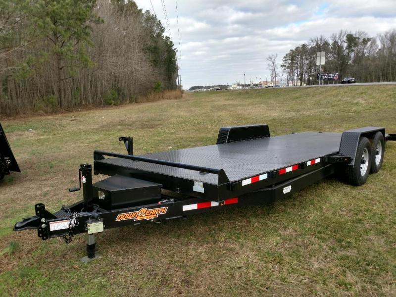 2019 Down 2 Earth Trailers 22' STEEL TILT Equipment Trailer