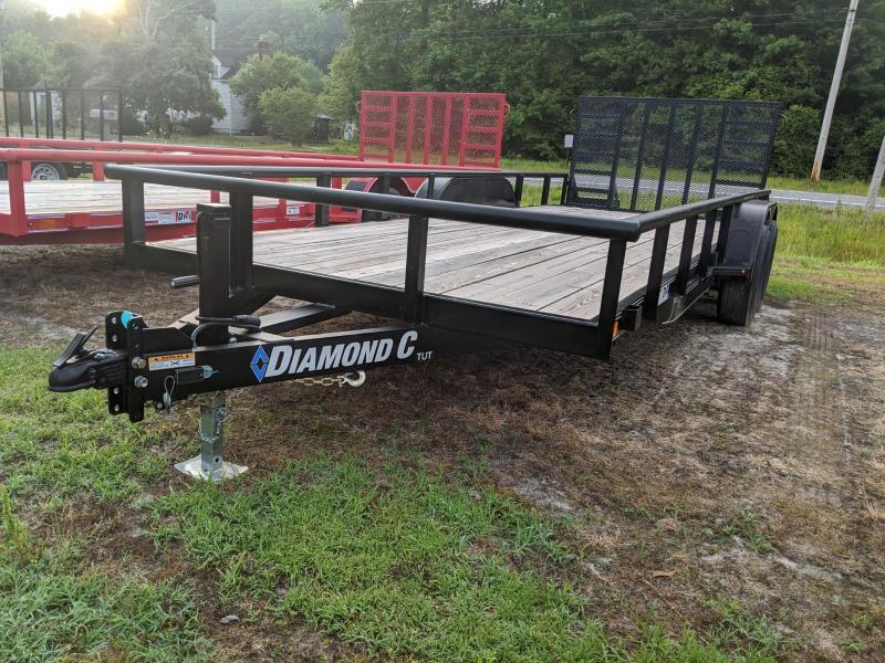 2019 Diamond C Trailers 20' TUT 10K Utility Trailer