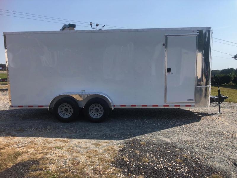 2021 Arising 7 x 18 Enclosed Cargo Trailer