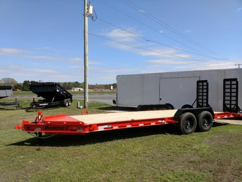 2020 Diamond C Trailers LPX 2-7K 22' Equipment Trailer