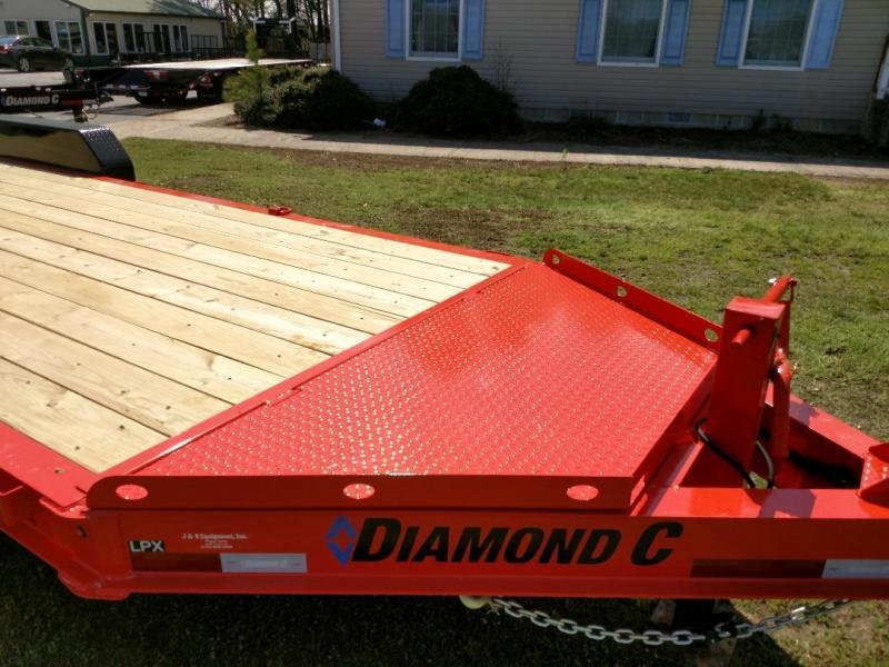 2020 Diamond C Trailers LPX 2-7K 22' Equipment Trailer
