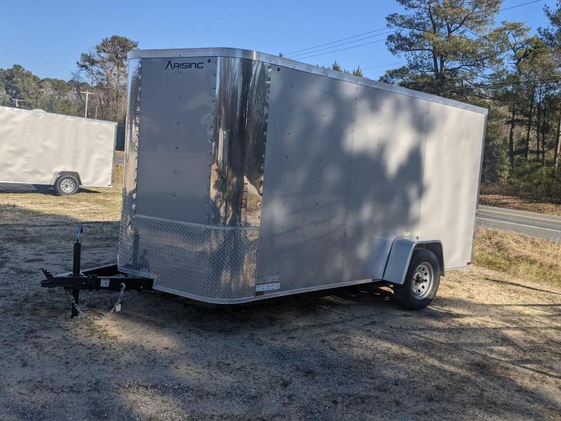2021 Arising 7X12 SA SIVER Enclosed Cargo Trailer