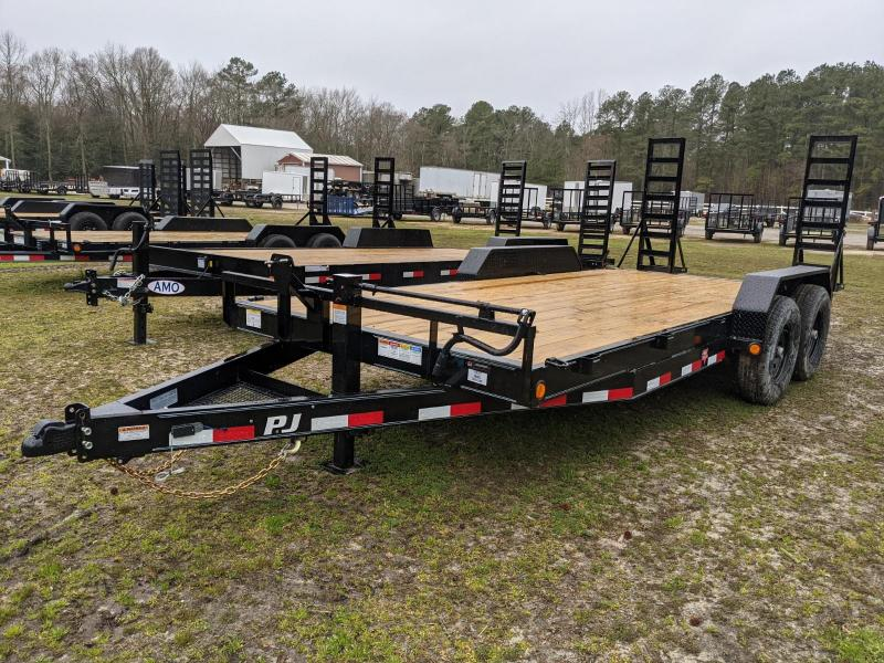 2021 PJ TRAILERS  CC 18' Equipment Trailer