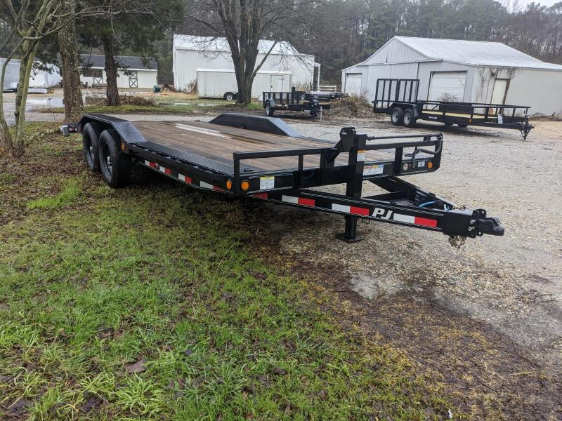 2021 PJ Trailers B6 20' Equipment Trailer