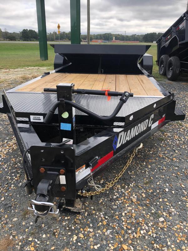 2021 Diamond C Trailers HDT 22 Equipment Trailer