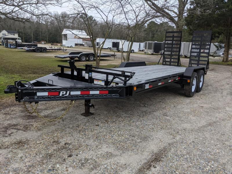 2020 PJ Trailers 20' 16K OIL 31X66 Equipment Trailer