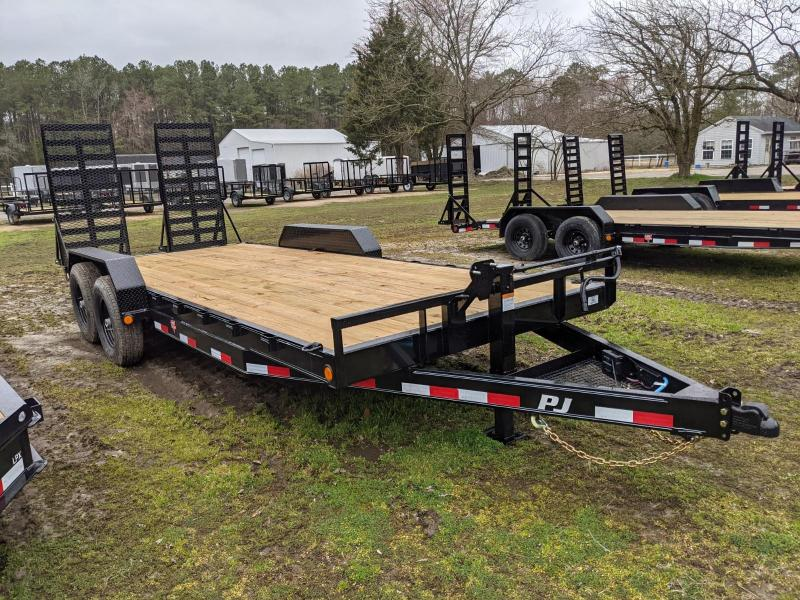 2021 PJ Trailers CC 20' Equipment Trailer