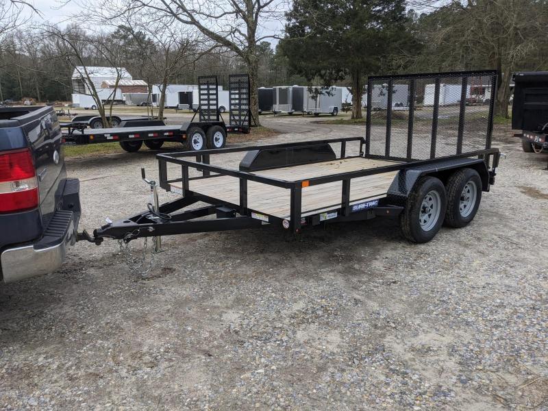 2021 Sure-Trac 7X12 TA Utility Trailer