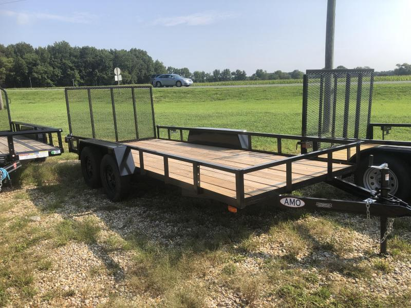 2022 American Manufacturing Operations (AMO) 76X16 Utility Trailer