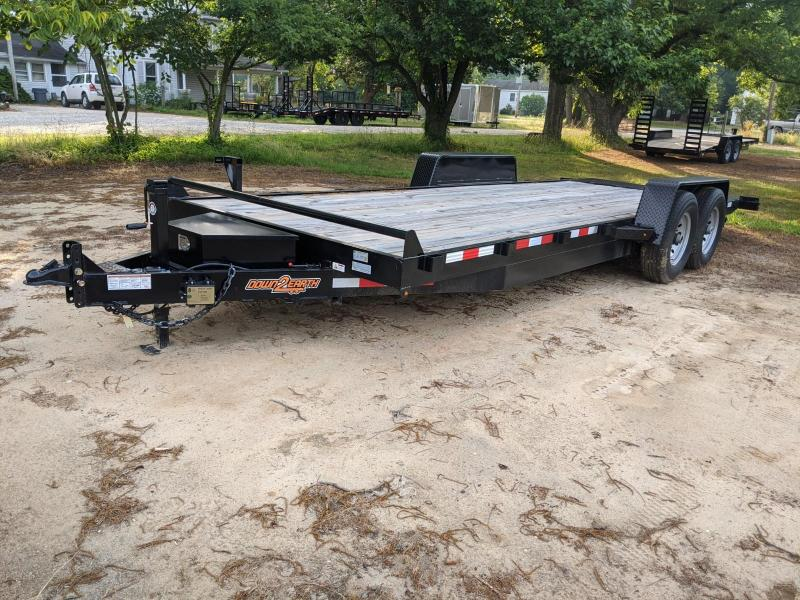 2019 Down 2 Earth Trailers WFCH TILT 22' Equipment Trailer