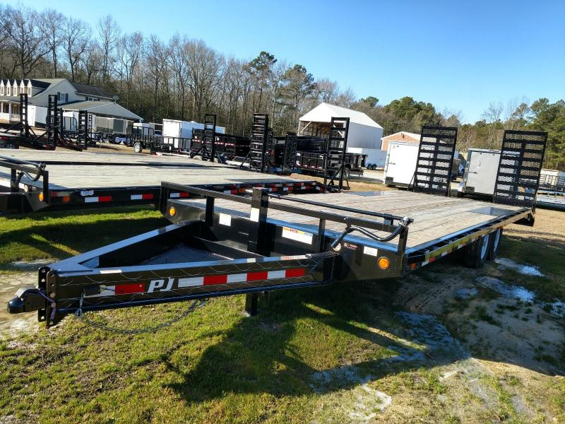 2019 PJ Trailers F8 24' Equipment Trailer