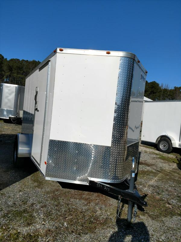2020 Freedom Trailers 6X10 Enclosed Cargo Trailer