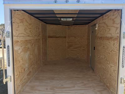 2021 Anvil 7X12 WHITE Enclosed Cargo Trailer