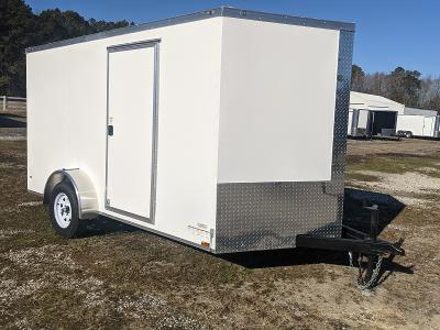 2021 Anvil 7X12 WHITE Enclosed Cargo Trailer